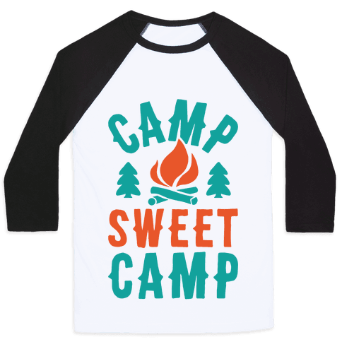Camp Sweet Camp Baseball Tee