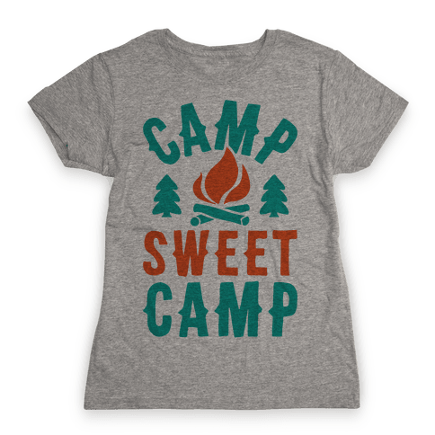 Camp Sweet Camp Womens T-Shirt