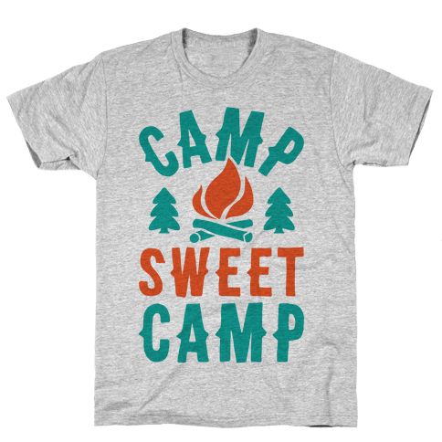 Camp Sweet Camp Mens T-Shirt