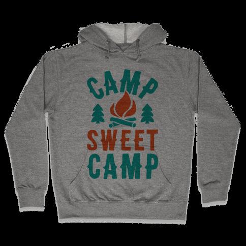 Camp Sweet Camp Hooded Sweatshirt