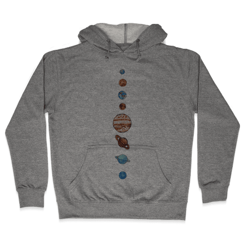 Solar System Hooded Sweatshirt