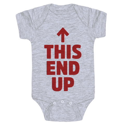 This End Up Baby Onesy