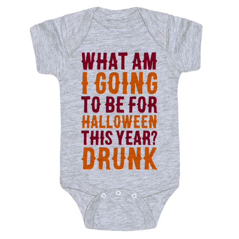 What Am I Going To Be For Halloween This Year? Baby Onesy