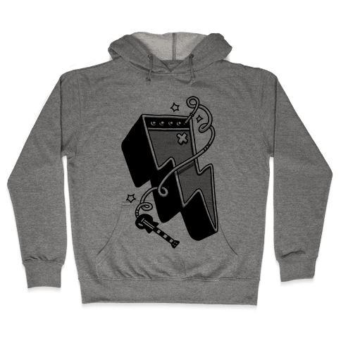 Lightning Amp Hooded Sweatshirt