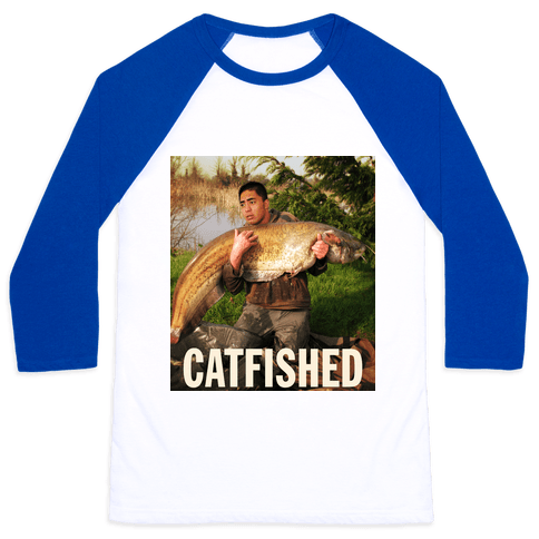Catfished (Manti Te'o Version) Baseball Tee