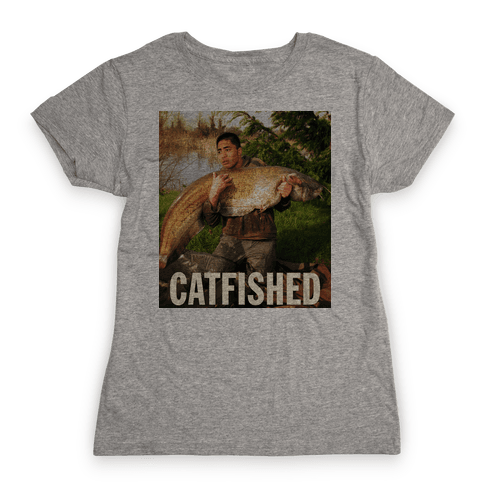 Catfished (Manti Te'o Version) Womens T-Shirt