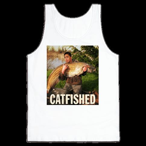 Catfished (Manti Te'o Version) Tank Top