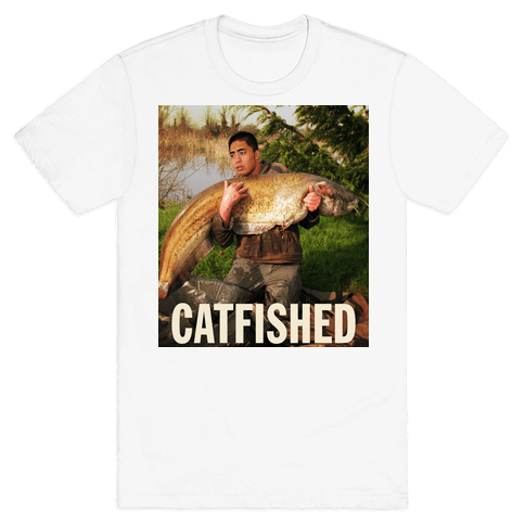 Catfished (Manti Te'o Version) Mens T-Shirt