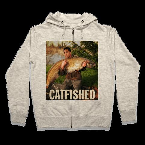 Catfished (Manti Te'o Version) Zip Hoodie