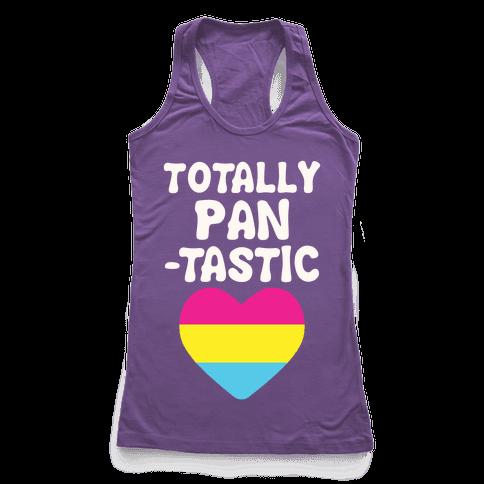 Totally Pantastic Racerback Tank Top