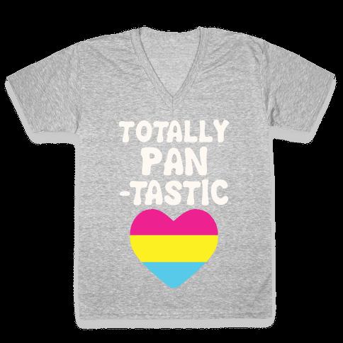 Totally Pantastic V-Neck Tee Shirt