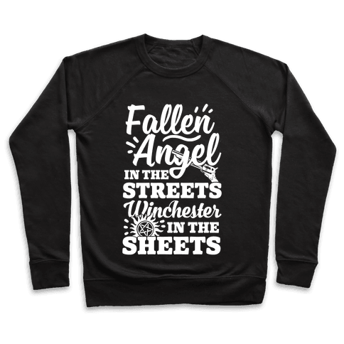 Fallen Angel In The Streets Winchester In The Sheets Pullover