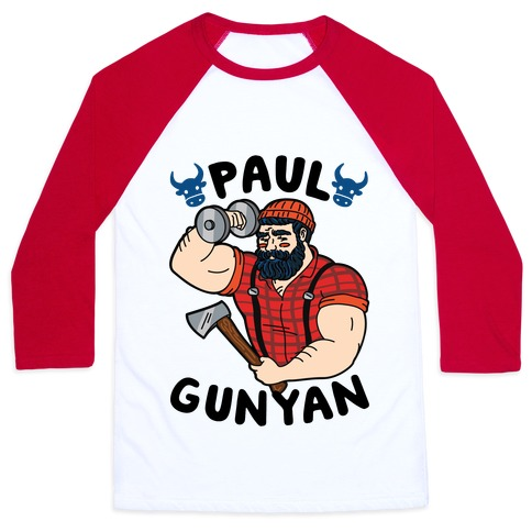 Paul Gunyan Baseball Tee