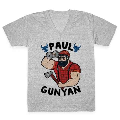 Paul Gunyan V-Neck Tee Shirt