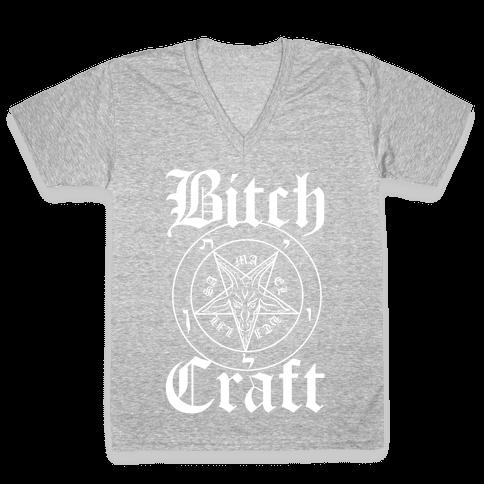 Bitchcraft V-Neck Tee Shirt