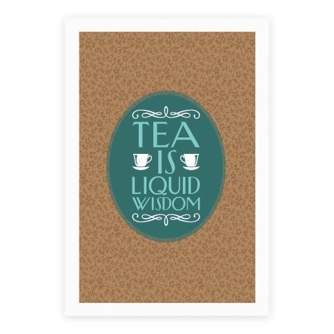 Liquid Wisdom Poster