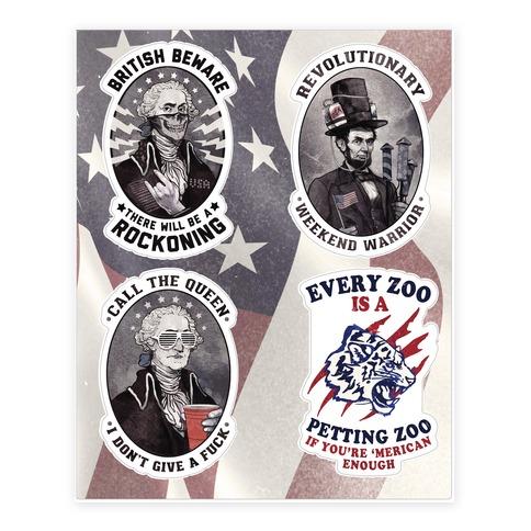 Rebel Presidents Sticker/Decal Sheet