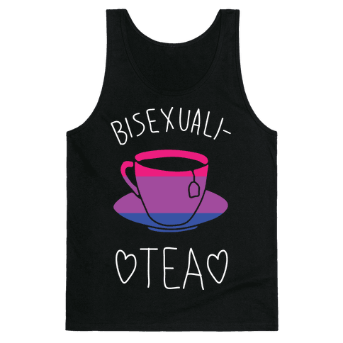 Bisexuali-TEA Tank Top