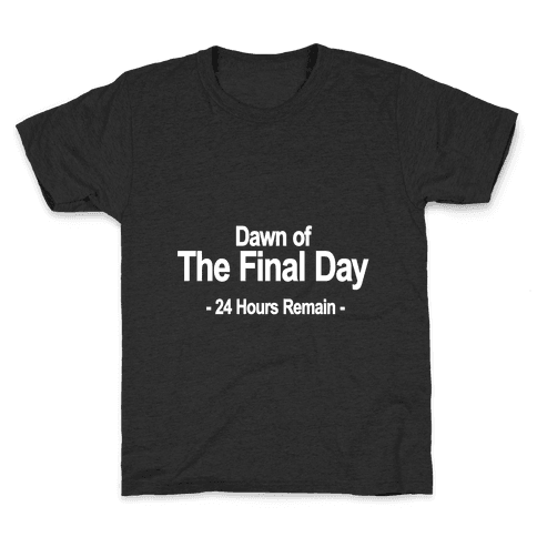 Dawn Of The Final Day Kids T-Shirt