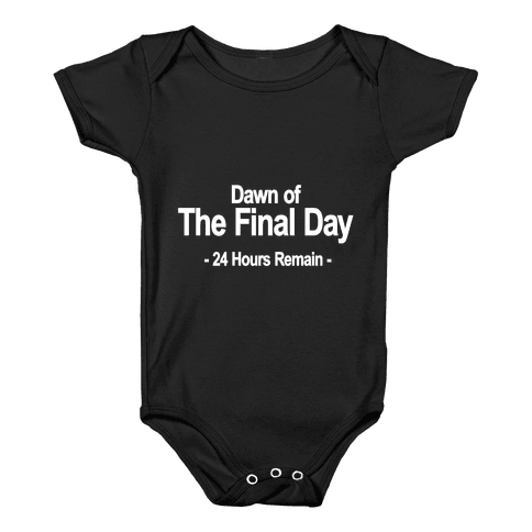 Dawn Of The Final Day Baby Onesy