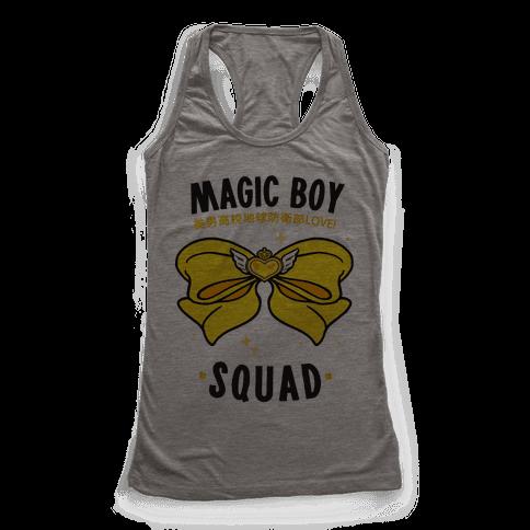 Magic Boy Squad (Yellow) Racerback Tank Top