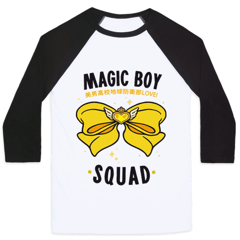 Magic Boy Squad (Yellow) Baseball Tee