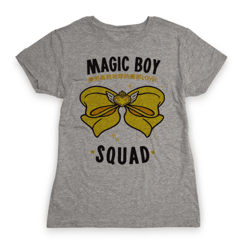 Magic Boy Squad (Yellow) Womens T-Shirt