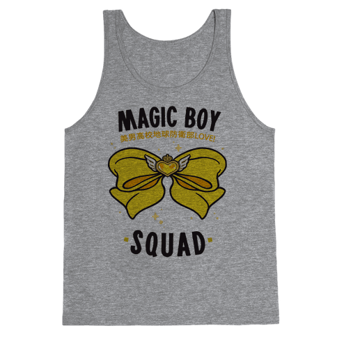 Magic Boy Squad (Yellow) Tank Top