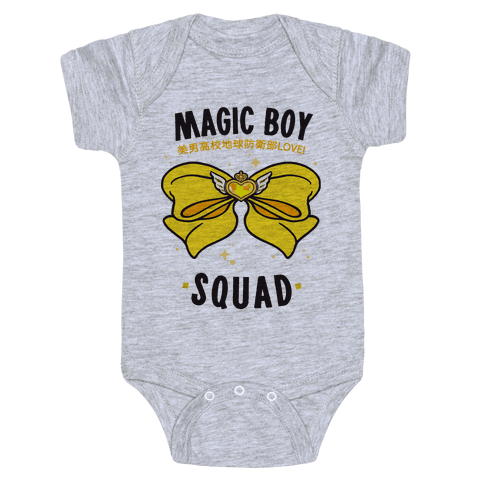 Magic Boy Squad (Yellow) Baby Onesy
