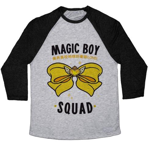 Magic Boy Squad (Yellow) Baseball Tee