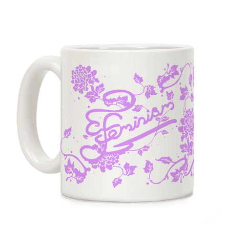 Feminist Typography Coffee Mug