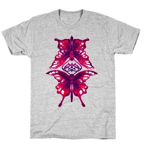 Crimson Butterflies T-Shirt