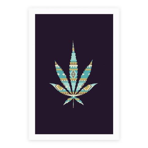 Navajo Leaf Poster