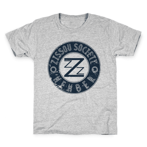 Zissou Society Member Kids T-Shirt