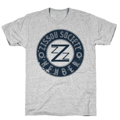 Zissou Society Member Mens T-Shirt