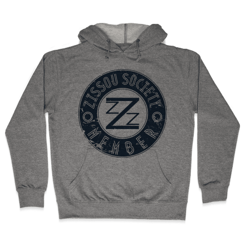 Zissou Society Member Hooded Sweatshirt