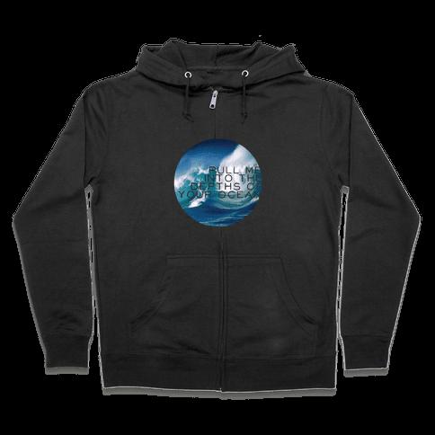 Your Ocean Zip Hoodie