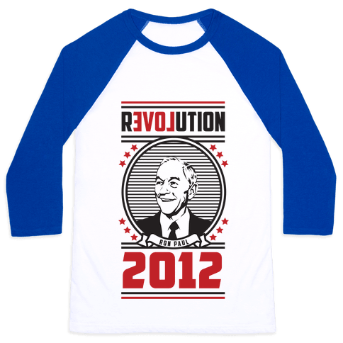 Ron Paul Presidency Baseball Tee