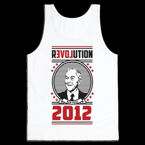 Ron Paul Presidency Tank Top