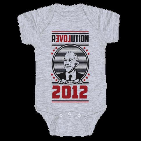 Ron Paul Presidency Baby Onesy