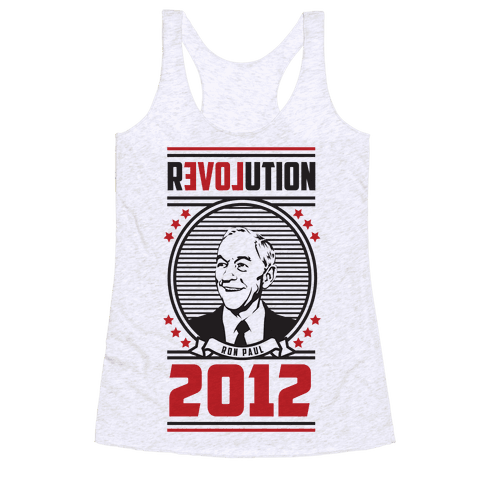 Ron Paul Presidency Racerback Tank Top