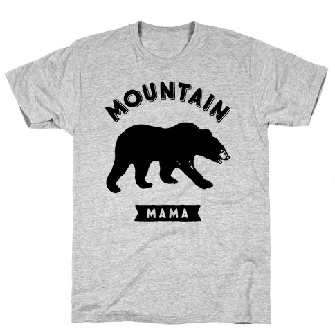 Mountain Mama Mens T-Shirt