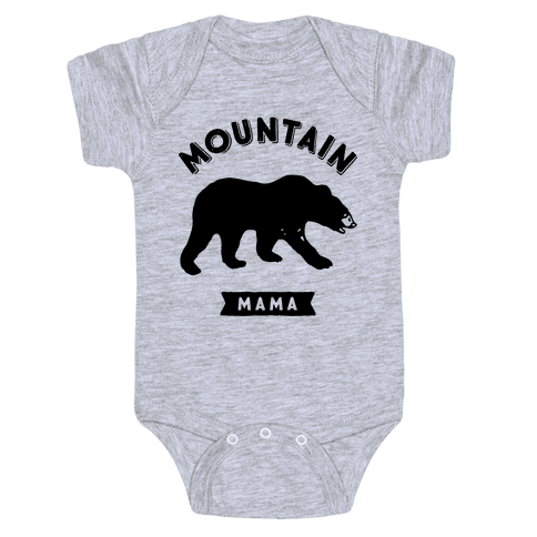 Mountain Mama Baby Onesy