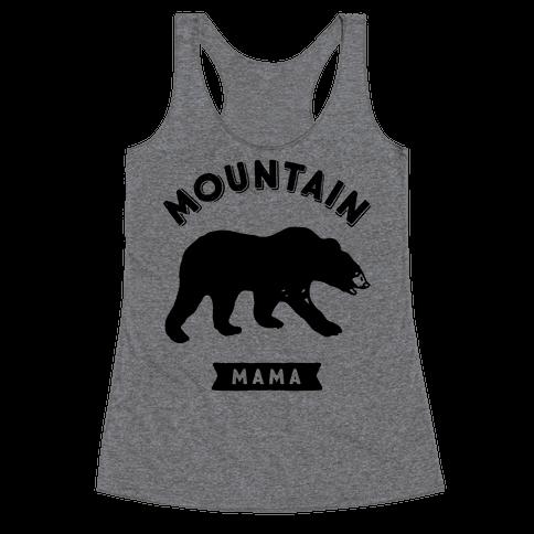 Mountain Mama Racerback Tank Top