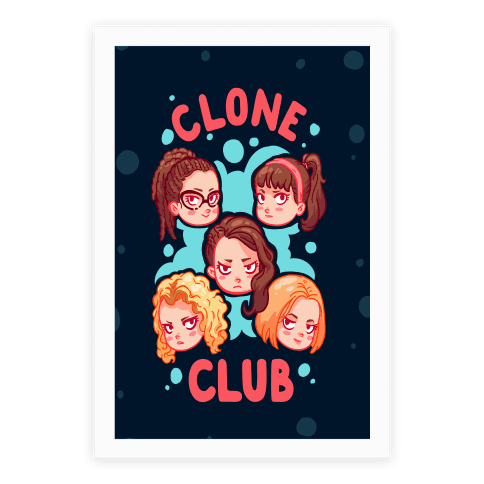 Clone Club Cuties Parody Poster