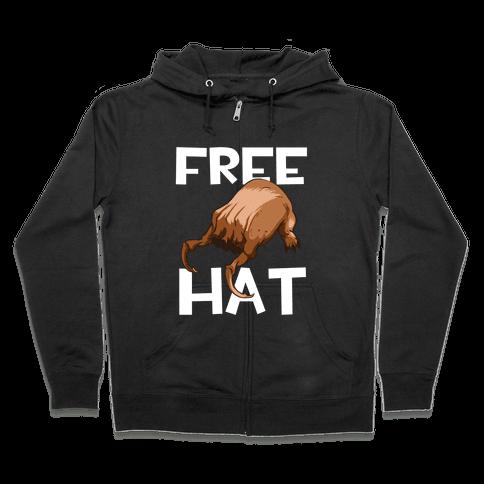 Free Hat! Zip Hoodie