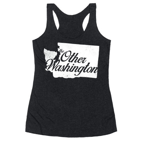 The Other Washington Racerback Tank Top