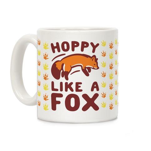 Hoppy Like A Fox Coffee Mug