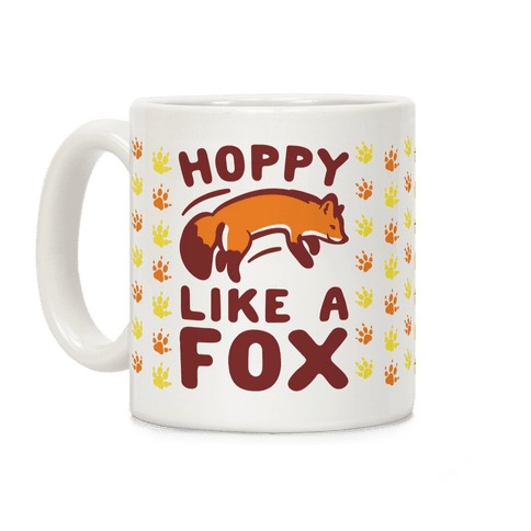 Hoppy Like A Fox Coffee Mug