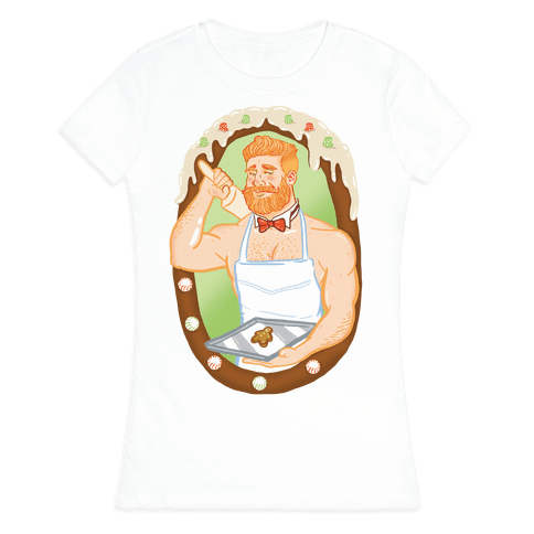The Ginger Bread Man Womens T-Shirt